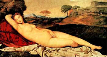 Спящая Венера / худ. Джорджоне