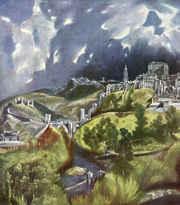 Вид Толедо / худ. Эль Греко