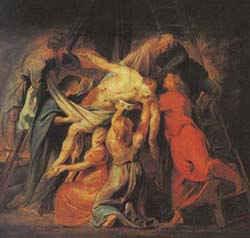 Снятие с креста / худ. П. Рубенс