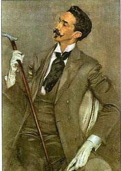 Портрет виконта Монтескье / худ. Д. Болдини