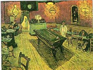 Ночное кафе / худ. В. Ван Гог