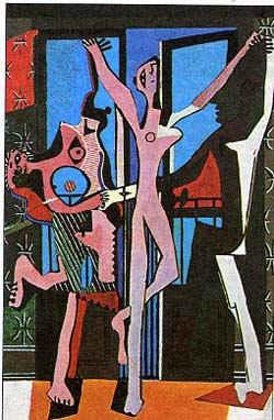 Танец втроем / худ. П. Пикассо