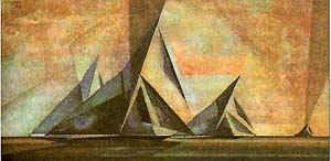 Большие яхты / худ. Л. Фейнингер