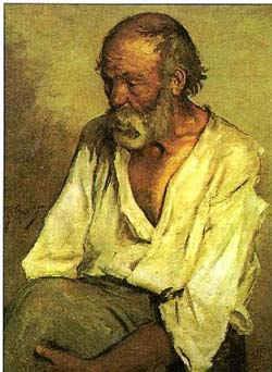 Старый рыбак / худ. П. Пикассо