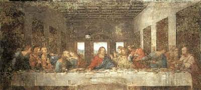 Тайная вечеря / худ. Леонардо да Винчи