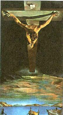 Христос Креста св. Иоанна / худ. С. Дали