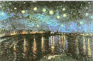 Звездная ночь на Роне / худ. В. Ван Гог