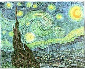 Звездная ночь / худ. В. Ван Гог