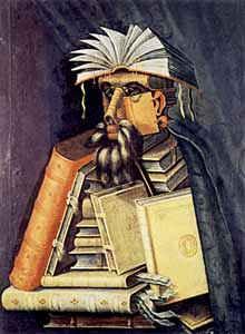 Библиотекарь / худ. Д.Арчимбольдо