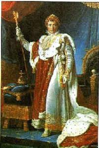 Наполеон I в коронационном костюме / худ. Ф. Жерар