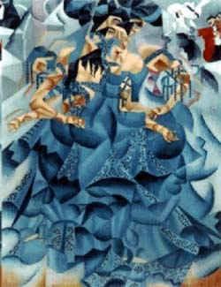 Голубая танцовщица / худ. Д. Северини