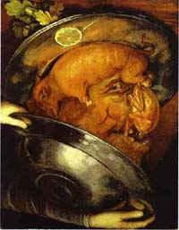 Портрет повара/ худ. Дж. Арчимбольдо