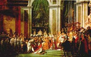 Коронация Наполеона / худ. Жак Луи Давид