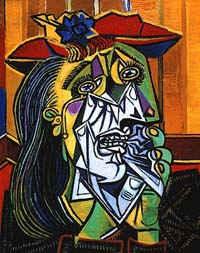 Плачущая женщина / худ. П. Пикассо