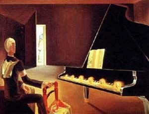 Шесть появлений Ленина на рояле / худ. С. Дали
