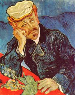 Портрет доктора Гаше / худ. В. Ван Гог