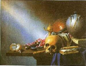 Аллегория бренности человеческой жизни / худ. Х. Стенвик
