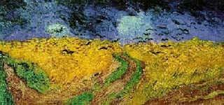 Вороны над ржаным полем / худ. В. Ван Гог