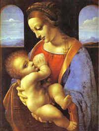 Мадонна Литта /худ.Леонардо да Винчи